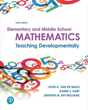 elementary and middle school mathematics 10th edition