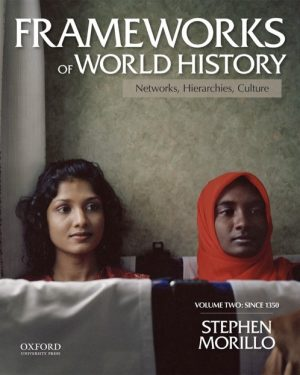 frameworks of world history networks hierarchies culture volume two since 1350