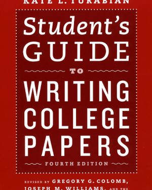 student s guide to writing college papers fourth edition