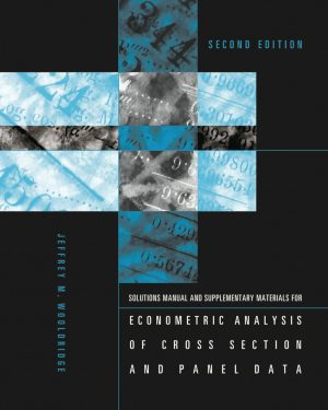 student s solutions manual and supplementary materials for econometric analysis of cross section and panel data