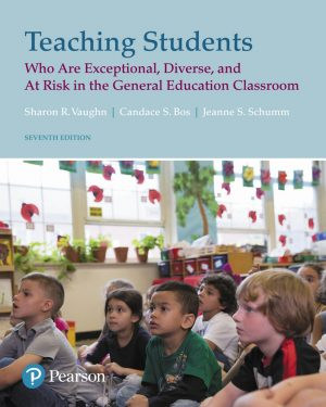 teaching students who are exceptional diverse and at risk in the general education 7th edition
